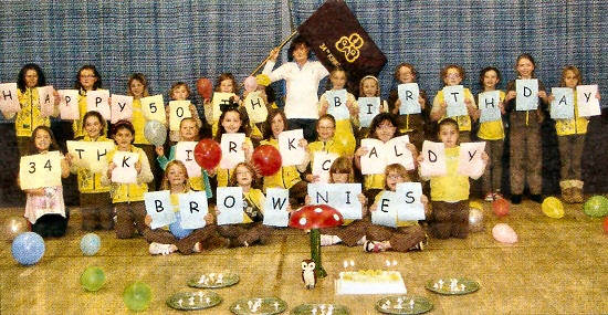 The Brownies celebrate their 50th birthday