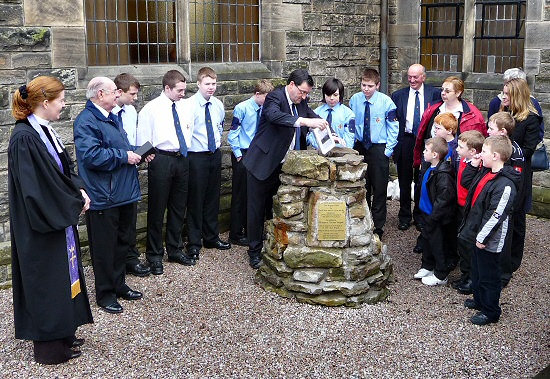 Boys' Brigade Cairn Topping Out
