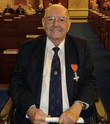 John Methvens celebration of 80 years with the Boys' Brigade