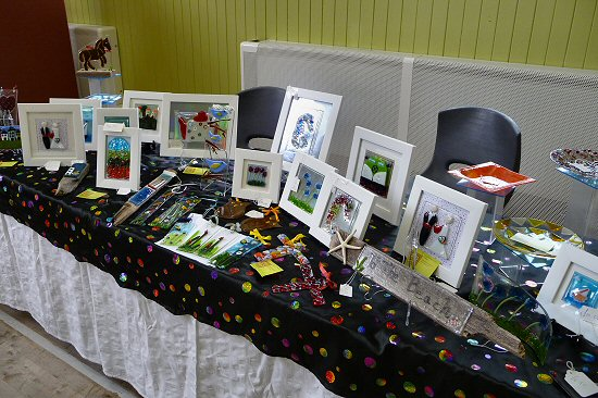 Some of the crafts from the Craft/Art Fair