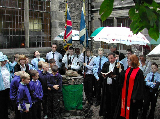 Dedication Of The Boys' Brigade Cairn