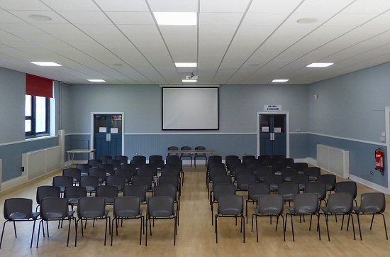 The Methvan Hall with Conference layout