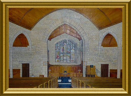 Painting Of The Inside Of St. John's