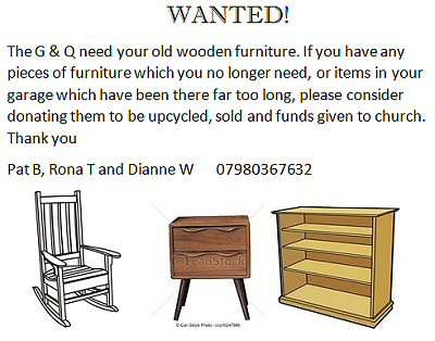 Furniture Wanted!