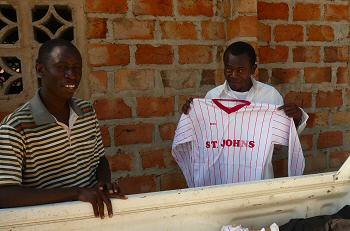 Arrival of St. Johns Football Shirts